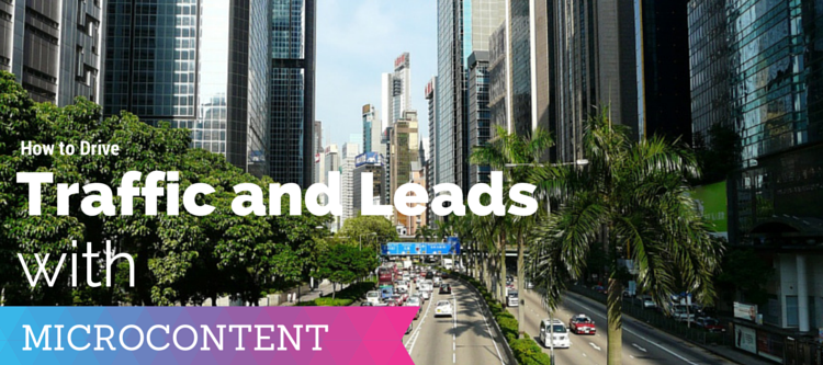 TRAFFIC AND LEADS MICROCONTENT