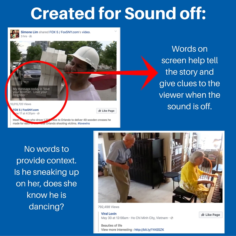 Facebook Questions and Answers: What does created for sound off mean?