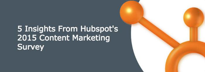 hubspot content marketing survey