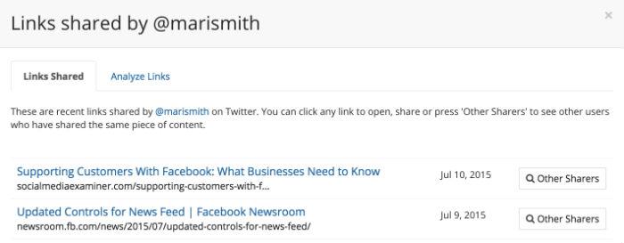 links-shared