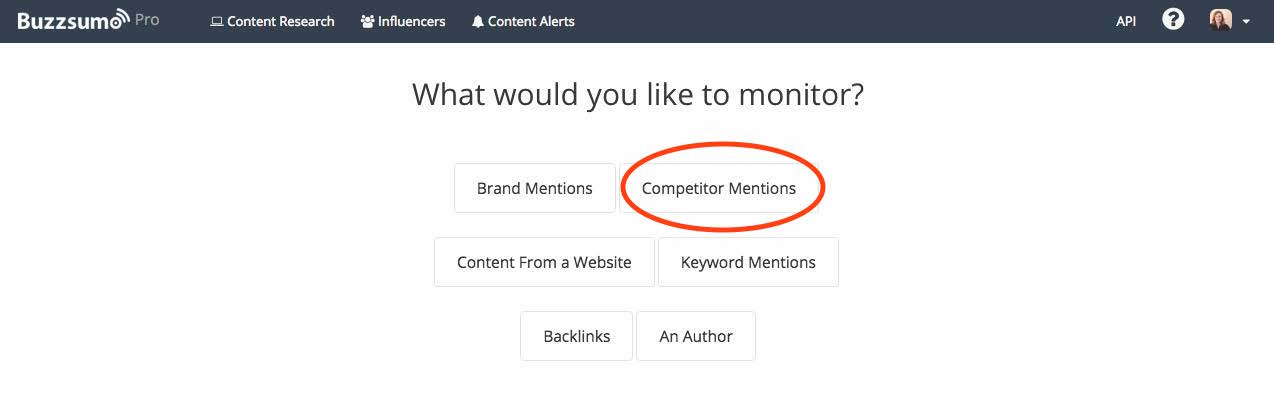 competitor mentions