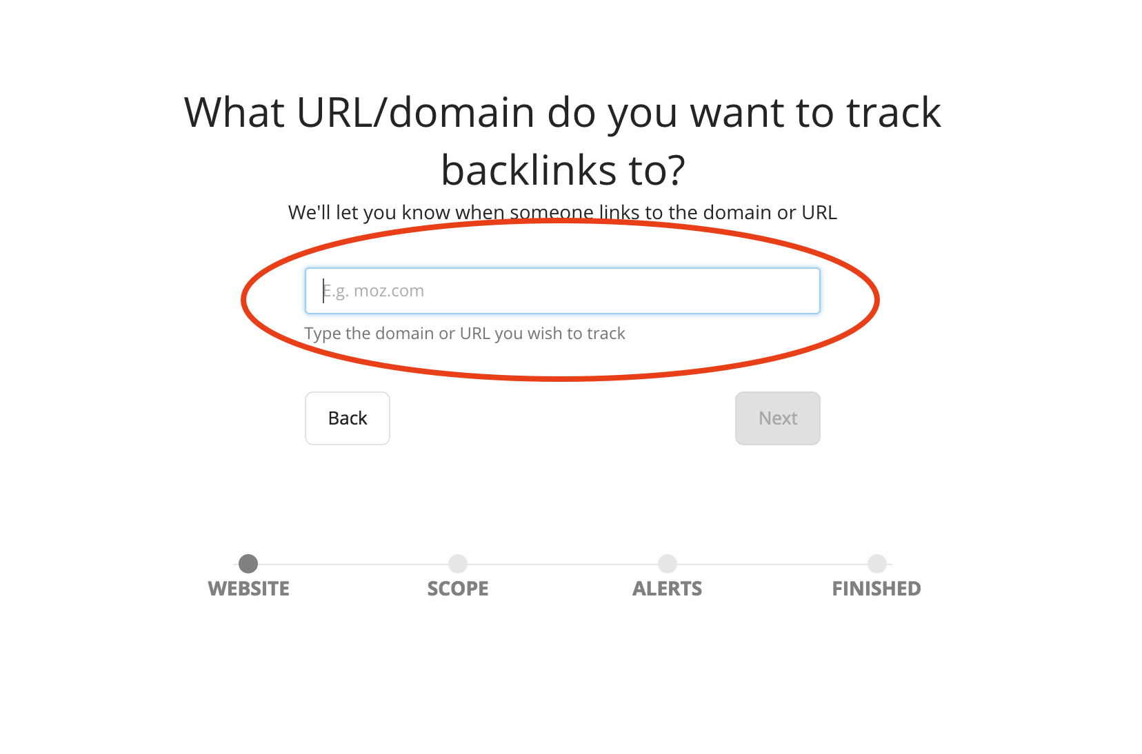 Backlinks copy