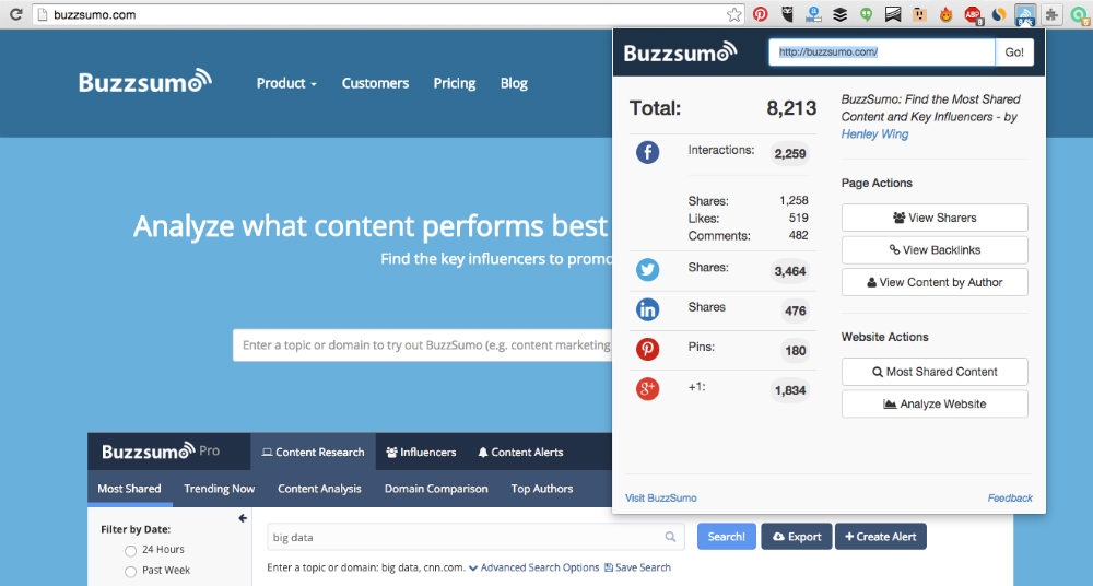 buzzsumo-chrome-extension