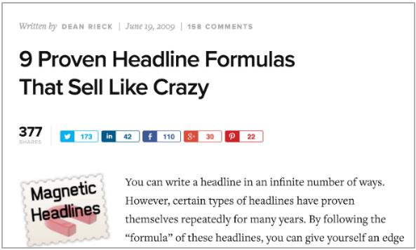 9 proven headlines