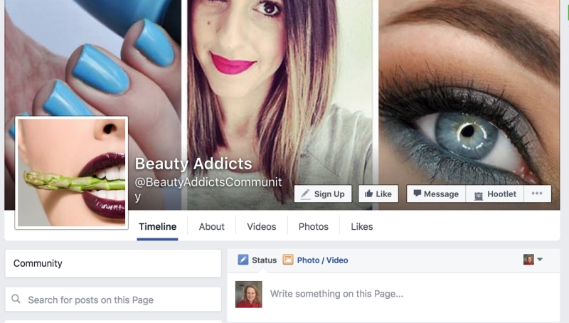 I love Beauty passion page