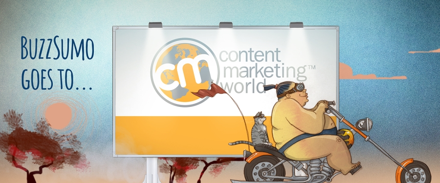 BuzzSumo goes to Content Marketing World