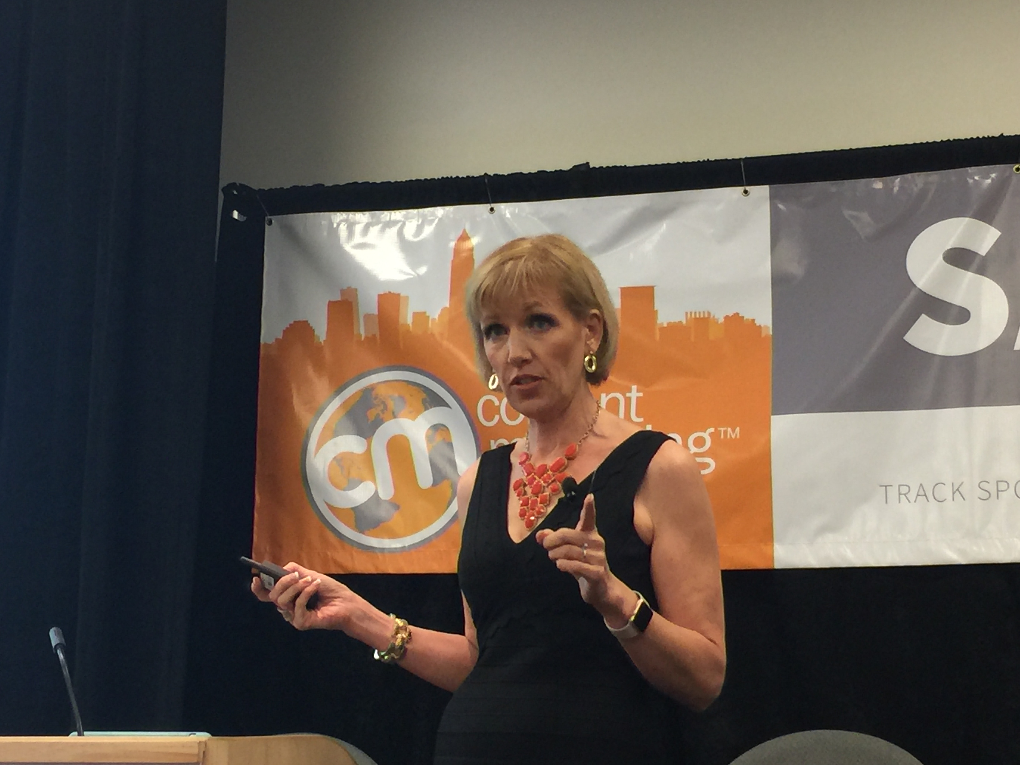 Mari Smith at Content Marketing World 2016