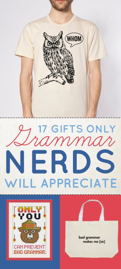 Gifts for Grammar Nerds
