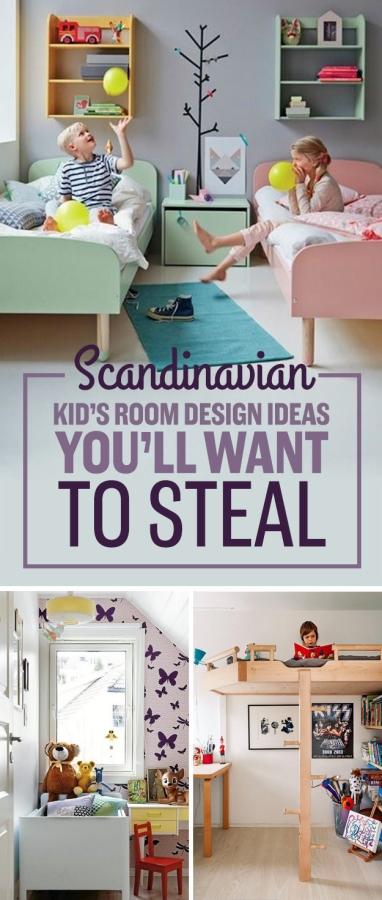 Scandinavian kids' furniture ideas