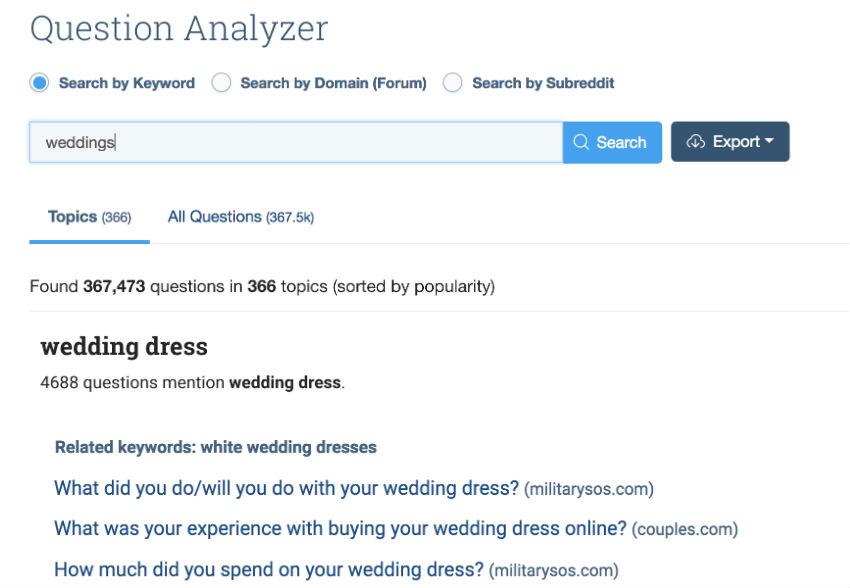 wedding-questions