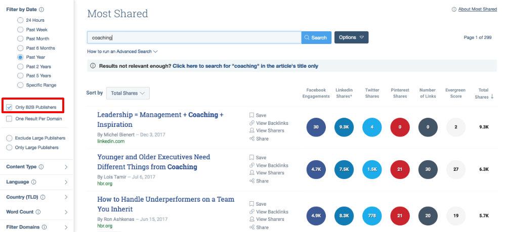 coaching-b2b-example