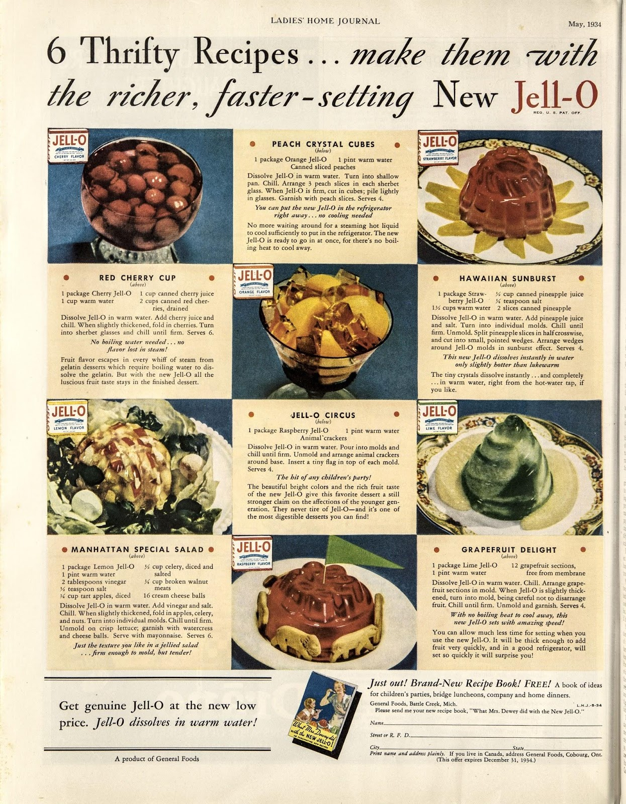 Jello ad example of content marketing for ecommerce