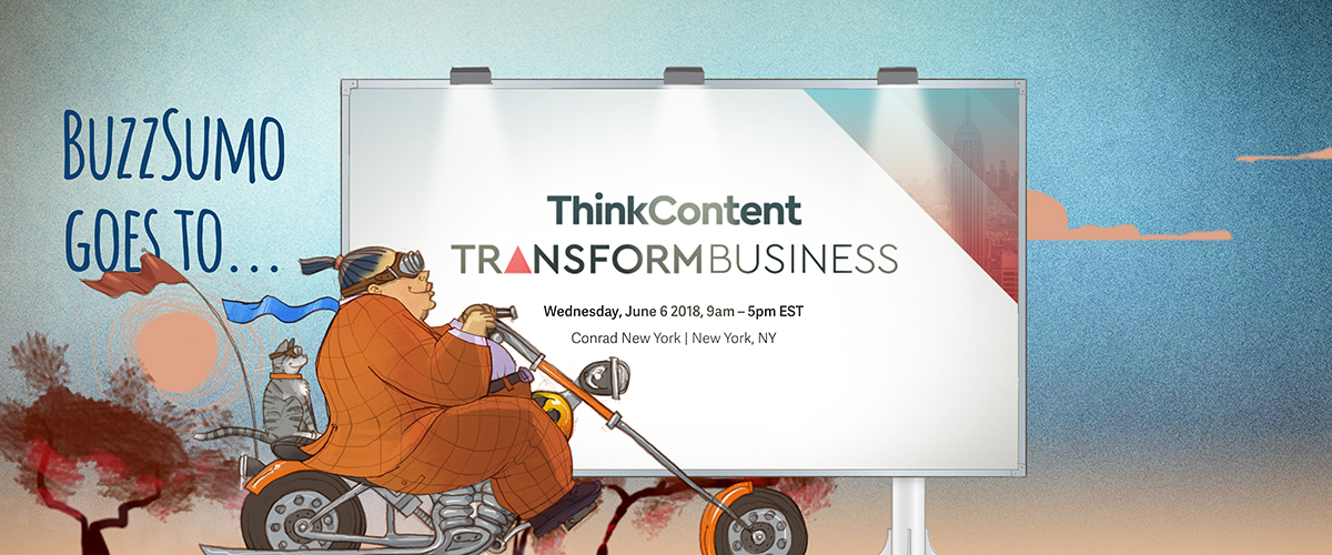 BuzzSumo Newscred ThinkContent