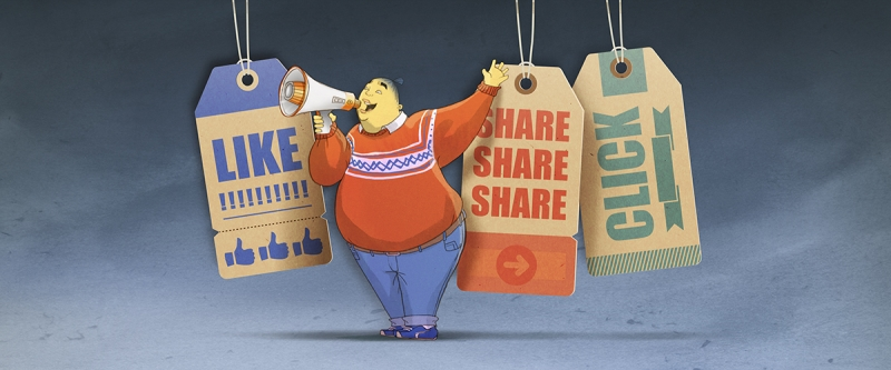 How to Promote content landscape orientation with BuzzSumo character