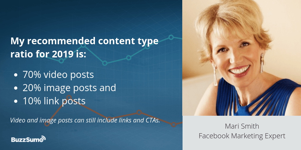 Mari Smith Recommendation for post frequency for Facebook Engagement